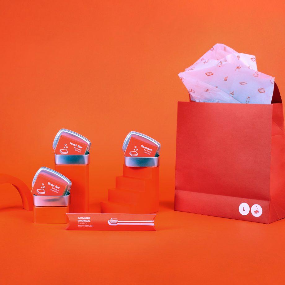 nopla Orange Large Cleanse Set
