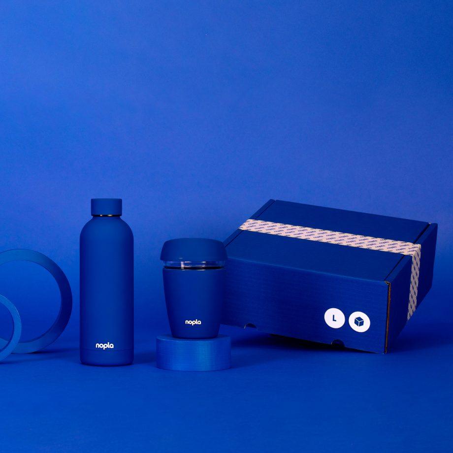 nopla Large Blue Starter Set