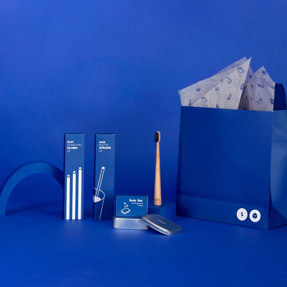 nopla Small Blue Starter Set