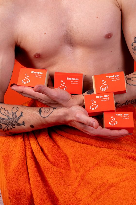 nopla Orange Soap Bars