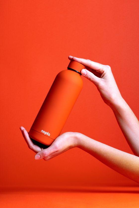 nopla Orange Inox Bottle